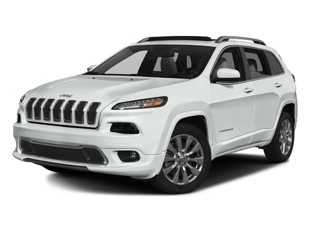 Bright White Clearcoat 2016 Jeep Cherokee Pictures Cherokee Utility 4D Overland 4WD photos front view