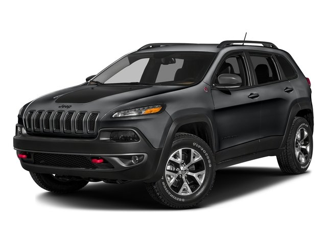 Granite Crystal Metallic Clearcoat 2016 Jeep Cherokee Pictures Cherokee Utility 4D Trailhawk 4WD photos front view