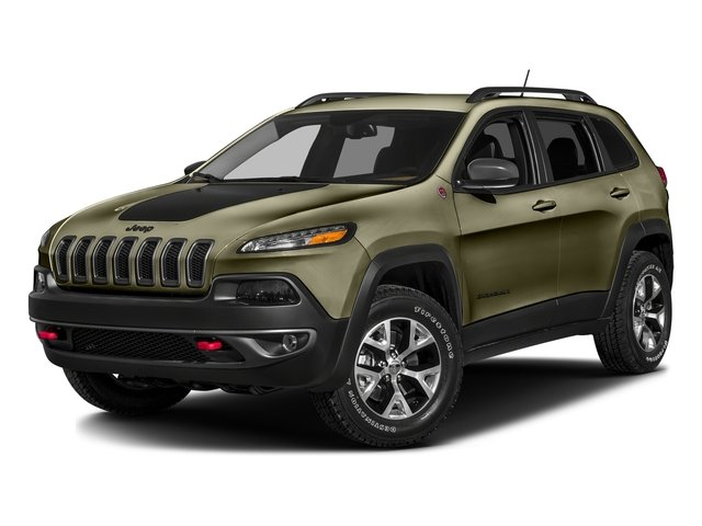 Eco Green Pearlcoat 2016 Jeep Cherokee Pictures Cherokee Utility 4D Trailhawk 4WD photos front view