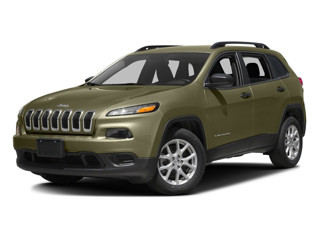 Eco Green Pearlcoat 2016 Jeep Cherokee Pictures Cherokee Utility 4D Sport 4WD V6 photos front view