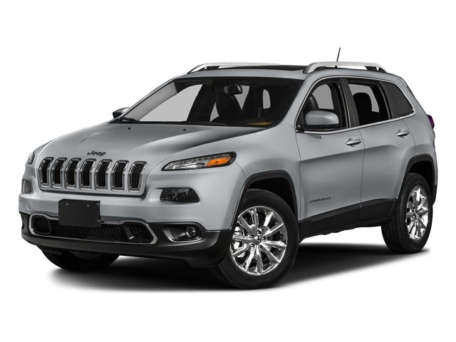 Billet Silver Metallic Clearcoat 2016 Jeep Cherokee Pictures Cherokee Utility 4D Limited 2WD photos front view