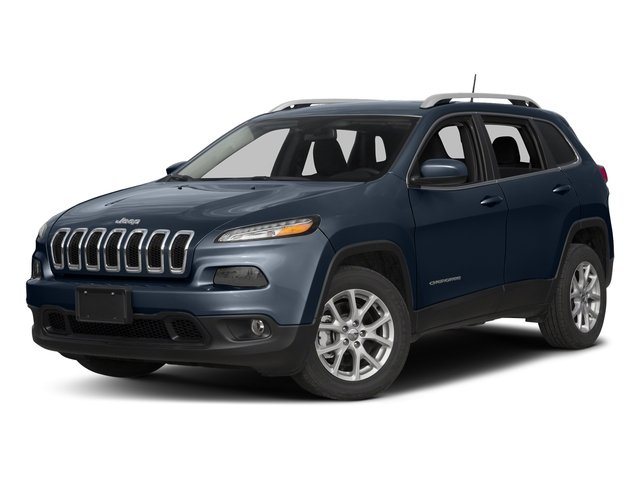 True Blue Pearlcoat 2016 Jeep Cherokee Pictures Cherokee Utility 4D Latitude 4WD photos front view