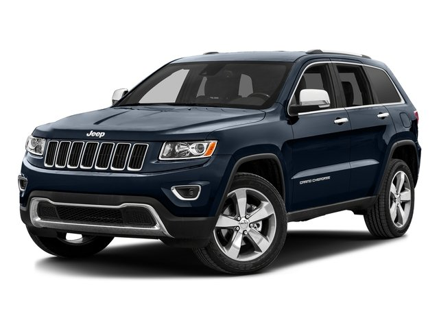 True Blue Pearlcoat 2016 Jeep Grand Cherokee Pictures Grand Cherokee Utility 4D Limited Diesel 4WD photos front view
