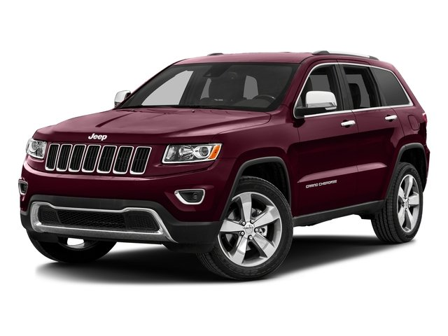 Velvet Red Pearlcoat 2016 Jeep Grand Cherokee Pictures Grand Cherokee Utility 4D Limited 4WD photos front view