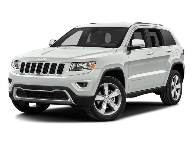 Bright White Clearcoat 2016 Jeep Grand Cherokee Pictures Grand Cherokee Utility 4D Limited 4WD photos front view