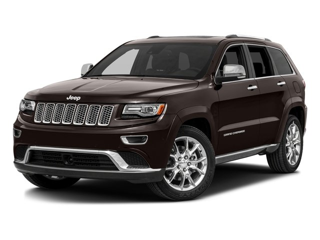 Luxury Brown Pearlcoat 2016 Jeep Grand Cherokee Pictures Grand Cherokee Utility 4D Summit Diesel 2WD photos front view