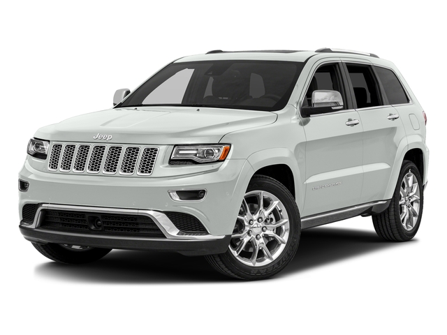 Bright White Clearcoat 2016 Jeep Grand Cherokee Pictures Grand Cherokee Utility 4D Summit Diesel 2WD photos front view