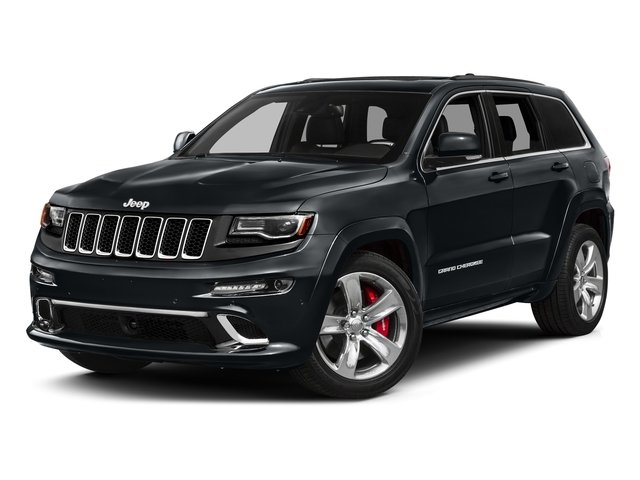 Maximum Steel Metallic Clearcoat 2016 Jeep Grand Cherokee Pictures Grand Cherokee Utility 4D SRT-8 4WD photos front view
