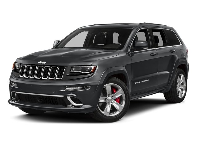 Granite Crystal Metallic Clearcoat 2016 Jeep Grand Cherokee Pictures Grand Cherokee Utility 4D SRT-8 4WD photos front view