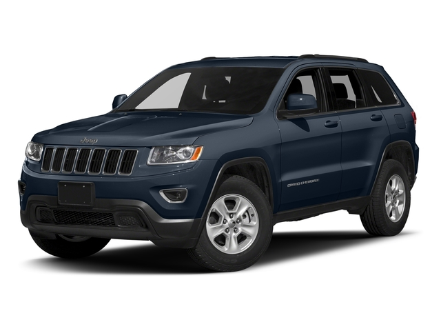 True Blue Pearlcoat 2016 Jeep Grand Cherokee Pictures Grand Cherokee Utility 4D Laredo 4WD photos front view