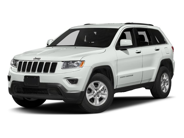 Bright White Clearcoat 2016 Jeep Grand Cherokee Pictures Grand Cherokee Utility 4D Laredo 4WD photos front view