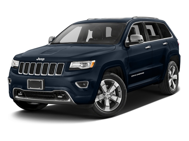 True Blue Pearlcoat 2016 Jeep Grand Cherokee Pictures Grand Cherokee Utility 4D Overland Diesel 4WD photos front view