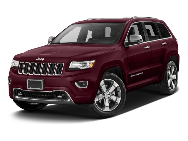 Velvet Red Pearlcoat 2016 Jeep Grand Cherokee Pictures Grand Cherokee Utility 4D Overland Diesel 4WD photos front view