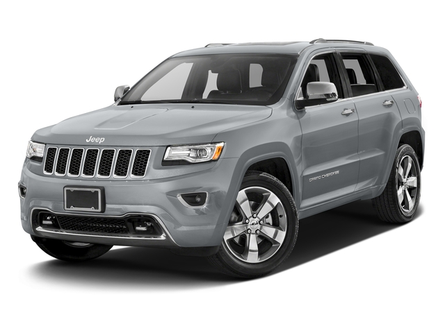 Billet Silver Metallic Clearcoat 2016 Jeep Grand Cherokee Pictures Grand Cherokee Utility 4D High Altitude 2WD photos front view