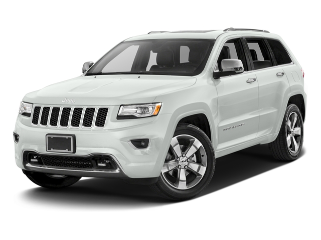 Bright White Clearcoat 2016 Jeep Grand Cherokee Pictures Grand Cherokee Utility 4D Overland Diesel 4WD photos front view