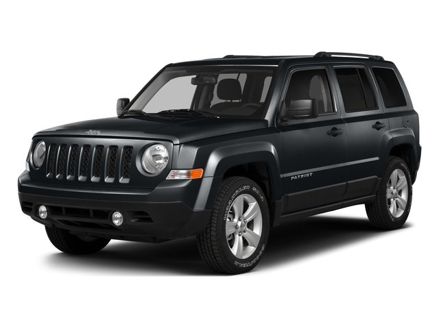 Maximum Steel Metallic Clearcoat 2016 Jeep Patriot Pictures Patriot Utility 4D Latitude 4WD photos front view