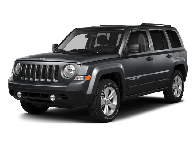 Granite Crystal Metallic Clearcoat 2016 Jeep Patriot Pictures Patriot Utility 4D High Altitude 2WD I4 photos front view