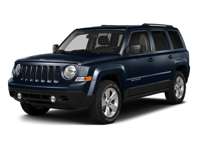True Blue Pearlcoat 2016 Jeep Patriot Pictures Patriot Utility 4D High Altitude 2WD I4 photos front view