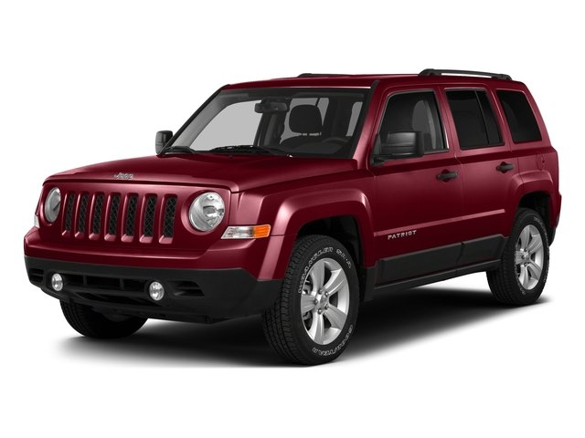 Deep Cherry Red Crystal Pearlcoat 2016 Jeep Patriot Pictures Patriot Utility 4D High Altitude 2WD I4 photos front view