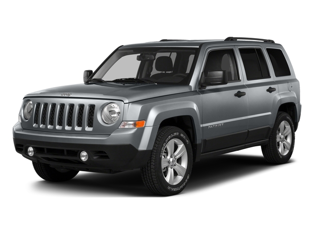 Billet Silver Metallic Clearcoat 2016 Jeep Patriot Pictures Patriot Utility 4D High Altitude 2WD I4 photos front view