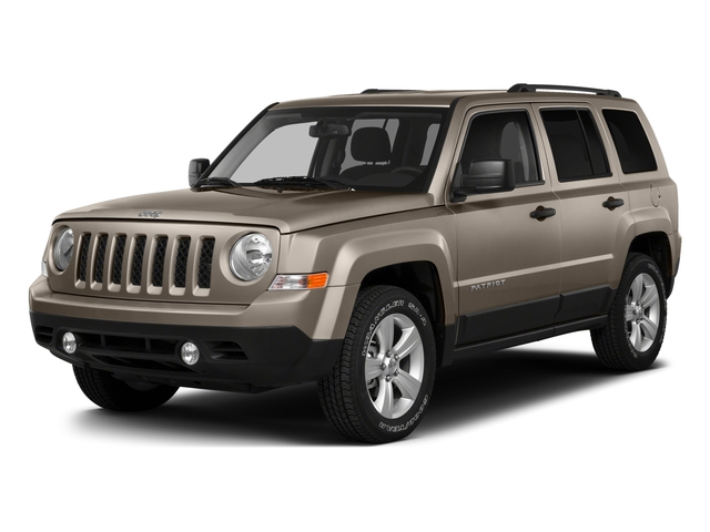 Mojave Sand Clearcoat 2016 Jeep Patriot Pictures Patriot Utility 4D High Altitude 2WD I4 photos front view