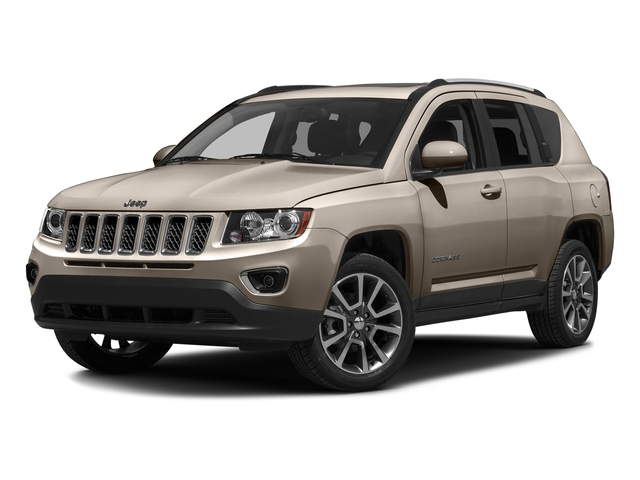 Mojave Sand Clearcoat 2016 Jeep Compass Pictures Compass Utility 4D Sport 4WD photos front view