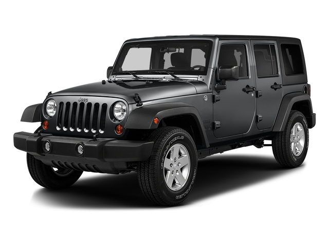 Granite Crystal Metallic Clearcoat 2016 Jeep Wrangler Unlimited Pictures Wrangler Unlimited Utility 4D Unlimited Sport 4WD V6 photos front view