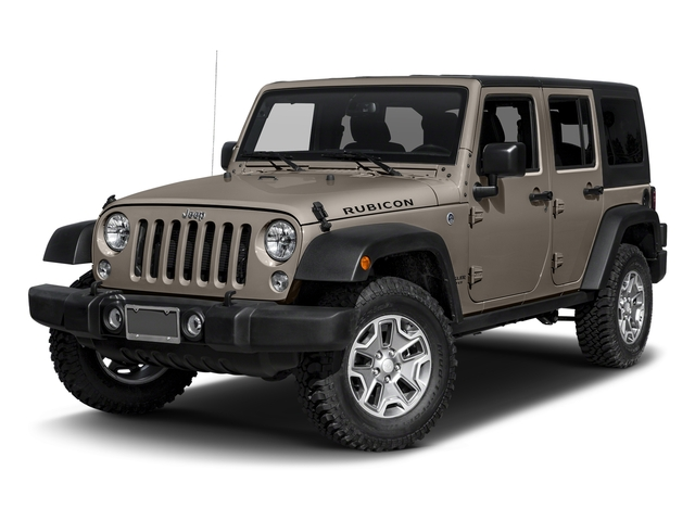 Mojave Sand Clearcoat 2016 Jeep Wrangler Unlimited Pictures Wrangler Unlimited Utility 4D Unlimited Rubicon 4WD V6 photos front view