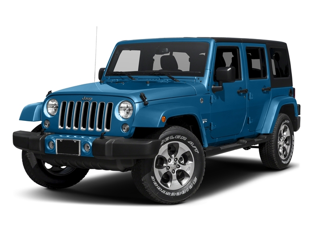 Hydro Blue Pearlcoat 2016 Jeep Wrangler Unlimited Pictures Wrangler Unlimited Utility 4D Unlimited Sahara 4WD V6 photos front view