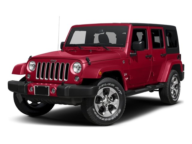 Firecracker Red Clearcoat 2016 Jeep Wrangler Unlimited Pictures Wrangler Unlimited Utility 4D Unlimited Sahara 4WD V6 photos front view