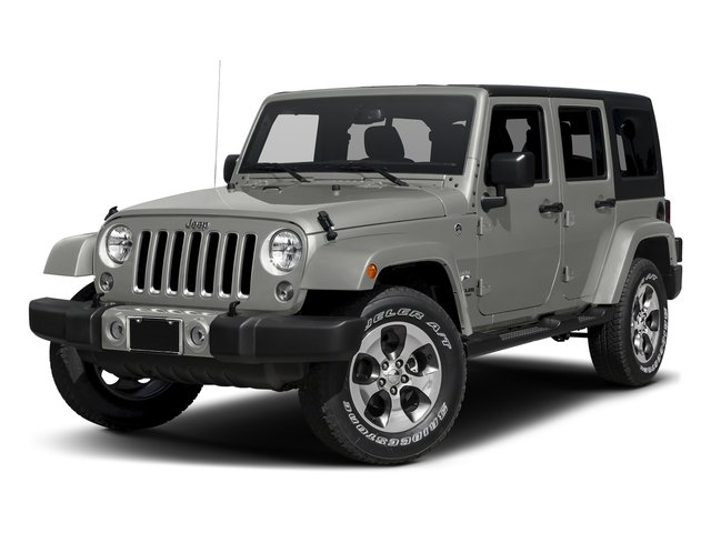 Billet Silver Metallic Clearcoat 2016 Jeep Wrangler Unlimited Pictures Wrangler Unlimited Utility 4D Unlimited Sahara 4WD V6 photos front view
