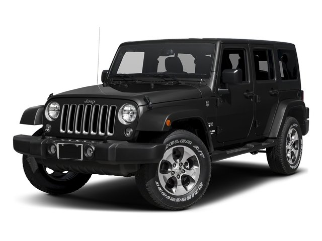 Black Clearcoat 2016 Jeep Wrangler Unlimited Pictures Wrangler Unlimited Utility 4D Unlimited Sahara 4WD V6 photos front view