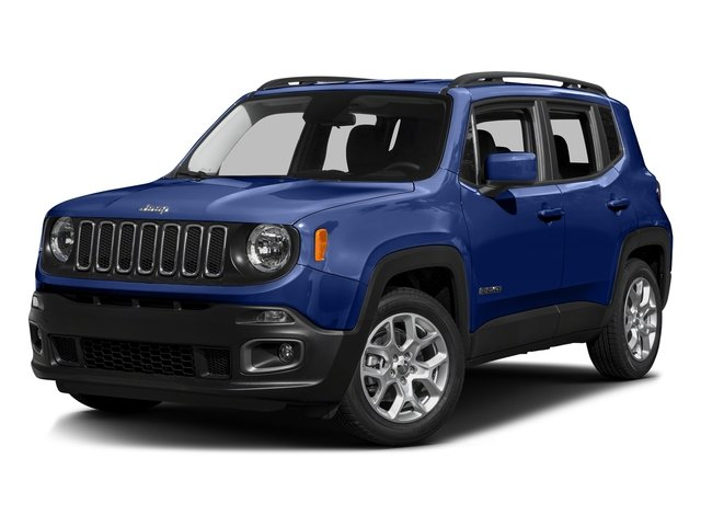 Jetset Blue 2016 Jeep Renegade Pictures Renegade Utility 4D Latitude AWD I4 photos front view