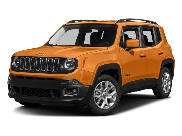 Omaha Orange 2016 Jeep Renegade Pictures Renegade Utility 4D Latitude 2WD I4 photos front view