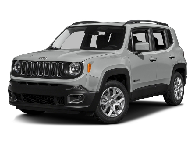 Glacier Metallic 2016 Jeep Renegade Pictures Renegade Utility 4D Latitude 2WD I4 photos front view