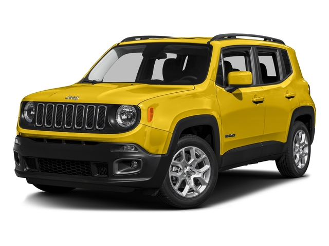 Solar Yellow 2016 Jeep Renegade Pictures Renegade Utility 4D Latitude 2WD I4 photos front view