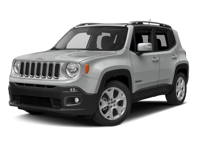 Glacier Metallic 2016 Jeep Renegade Pictures Renegade Utility 4D Limited AWD I4 photos front view