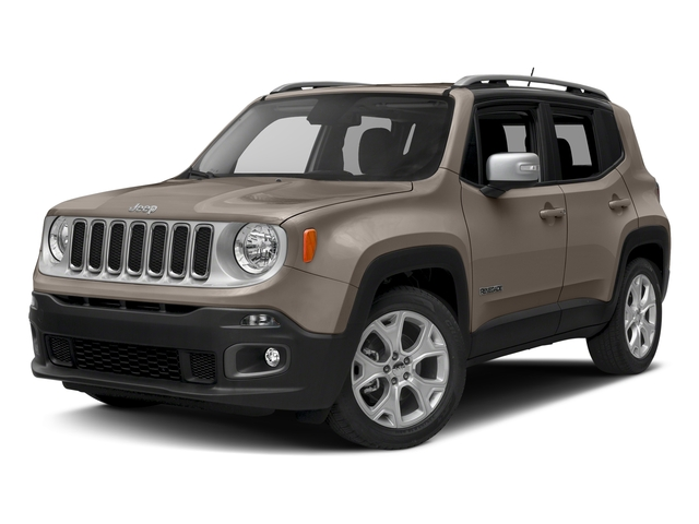 Mojave Sand 2016 Jeep Renegade Pictures Renegade Utility 4D Limited AWD I4 photos front view