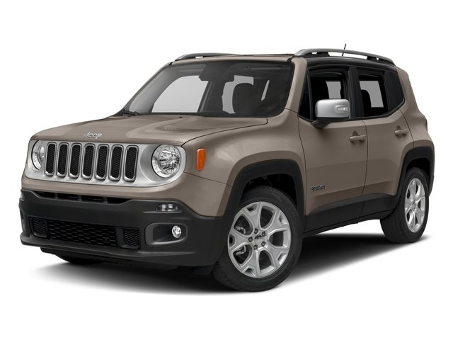 Mojave Sand 2016 Jeep Renegade Pictures Renegade Utility 4D Limited 2WD I4 photos front view