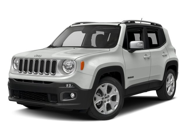 Alpine White 2016 Jeep Renegade Pictures Renegade Utility 4D Limited AWD I4 photos front view