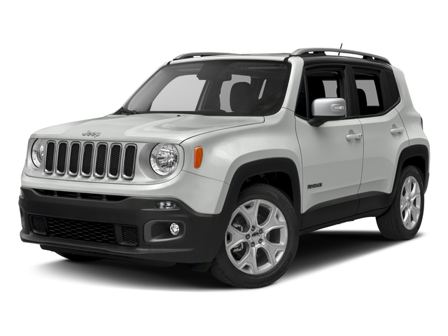 Alpine White 2016 Jeep Renegade Pictures Renegade Utility 4D Limited 2WD I4 photos front view