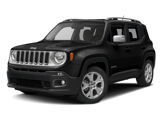 Black 2016 Jeep Renegade Pictures Renegade Utility 4D Limited 2WD I4 photos front view