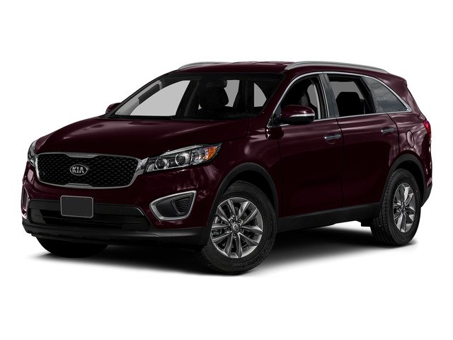 Dark Cherry 2016 Kia Sorento Pictures Sorento Utility 4D LX 2WD V6 photos front view