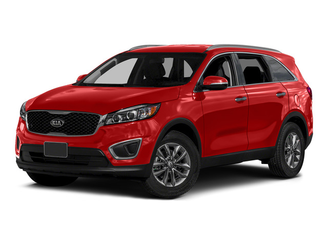Remington Red 2016 Kia Sorento Pictures Sorento Utility 4D LX 2WD V6 photos front view