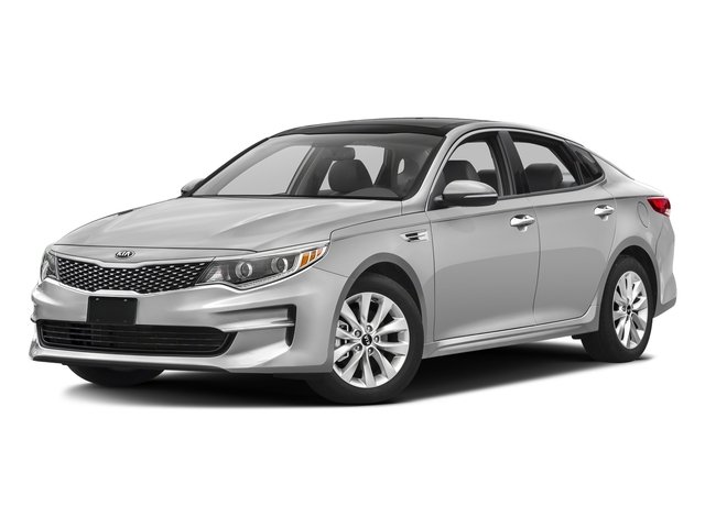 Sparkling Silver 2016 Kia Optima Pictures Optima Sedan 4D LX I4 photos front view