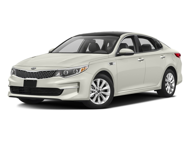 Snow White Pearl 2016 Kia Optima Pictures Optima Sedan 4D LX I4 photos front view