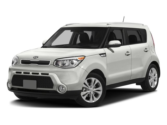 Clear White 2016 Kia Soul Pictures Soul Wagon 4D + I4 photos front view