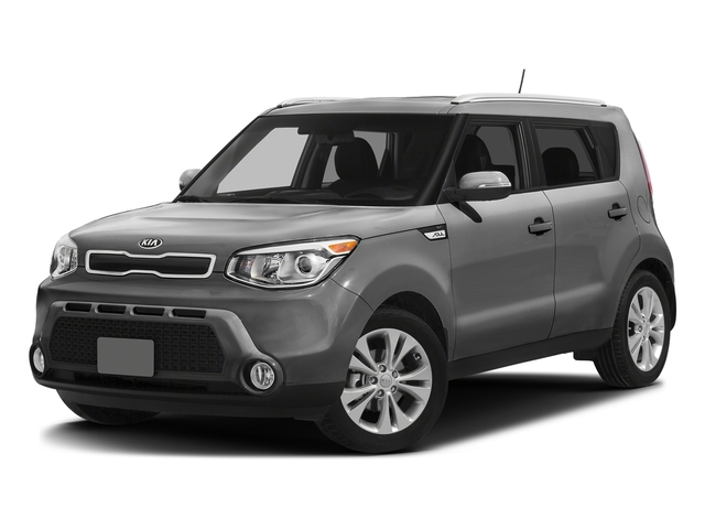 Bright Silver 2016 Kia Soul Pictures Soul Wagon 4D + I4 photos front view