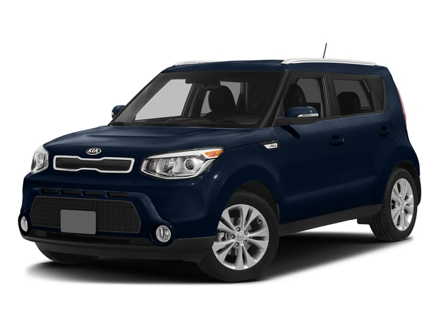 Fathom Blue w/White Roof 2016 Kia Soul Pictures Soul Wagon 4D + I4 photos front view