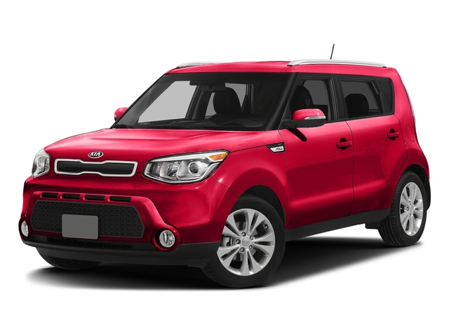 Inferno Red w/Black Roof 2016 Kia Soul Pictures Soul Wagon 4D + I4 photos front view